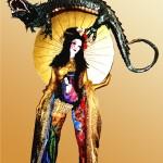 Fiorella-Scatena-Campionessa mondiale di body painting