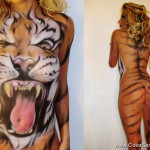 02_backstage_Body painting Tigre