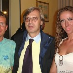 Flavio Bosco, Vittorio Sgarbi, Fiorella Scatena